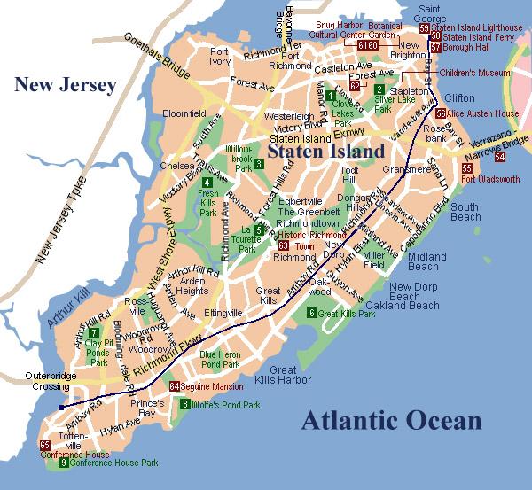 Staten Island MapStaten IslandStaten IslandFerry_